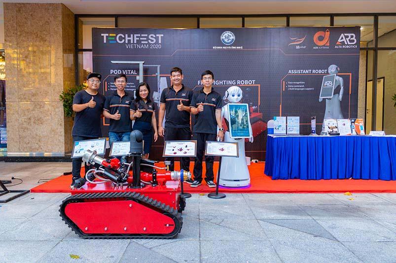 Alta Media tai Techfest Dong Nam Bo 2020
