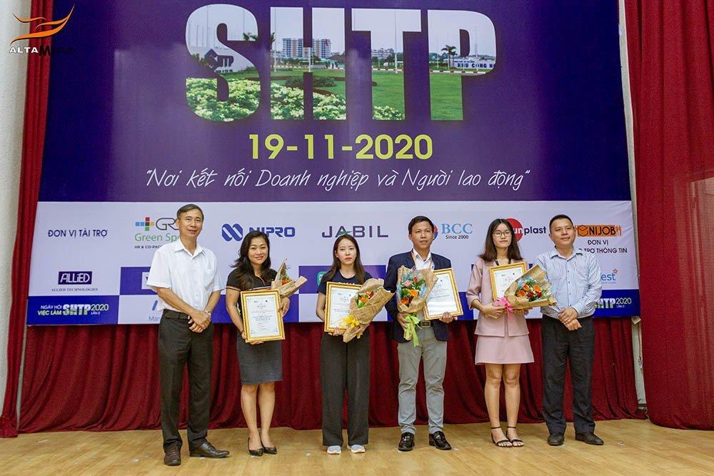 Alta Media tham gia Ngay hoi viec lam SHTP Lan 2